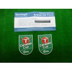 OFFICIAL EFL CARABAO CUP 2017-18 Patches (PAIR)