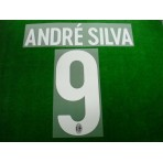 Official ANDRE SILVA #9 AC Milan Home 2017-18 Name Number