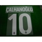 Official CALHANOGLU #10 AC Milan Home 2017-18 Name Number
