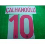 Official CALHANOGLU #10 AC Milan Away 2017-18 Name Number