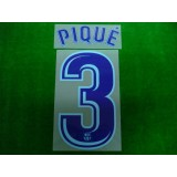OFFICIAL PIQUE #3 Barcelona Away 2017-18 PRINT