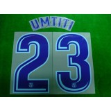 OFFICIAL UMTITI #23 Barcelona Away 2017-18 PRINT