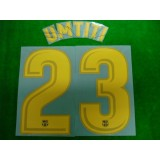 OFFICIAL UMTITI #23 Barcelona Home 2017-18 PRINT