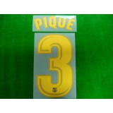 OFFICIAL PIQUE #3 Barcelona Home 2017-18 PRINT