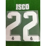 Official ISCO #22 Real Madrid Away 2017-18 SPORTING ID PRINT