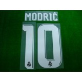 Official MODRIC #10 Real Madrid Away 2017-18 SPORTING ID PRINT