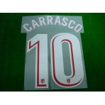 OFFICIAL CARRASCO #10 Atletico Madrid Home 2017-18 PRINT
