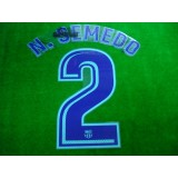 OFFICIAL PLAYER ISSUE N.SEMEDO #2 FC Barcelona Away 2017-18 PRINT