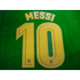 OFFICIAL PLAYER ISSUE MESSI #10 FC Barcelona Home 2017-18 PRINT