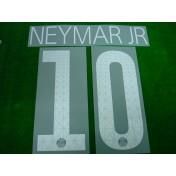 Official NEYMAR JR #10  Paris Saint Germain PSG 3rd 2017-18 UCL PRINT