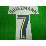 OFFICIAL GRIEZMANN #7 Atletico Madrid Away 2017-18 PRINT