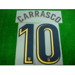OFFICIAL CARRASCO #10 Atletico Madrid Away 2017-18 PRINT