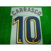 OFFICIAL CARRASCO #10 Atletico Madrid Away 2017-18 PRINT