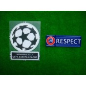 Official UEFA EUROPA LEAGUE WINNERS 2017 + RESPECT SENSCILIA Patch