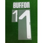 Official BUFFON #1 Italy Home 2017-18 PRINT