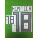 Official KIMMICH #18 Germany Home World Cup 2018 PRINT