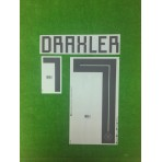 Official DRAXLER #7 Germany Home World Cup 2018 PRINT