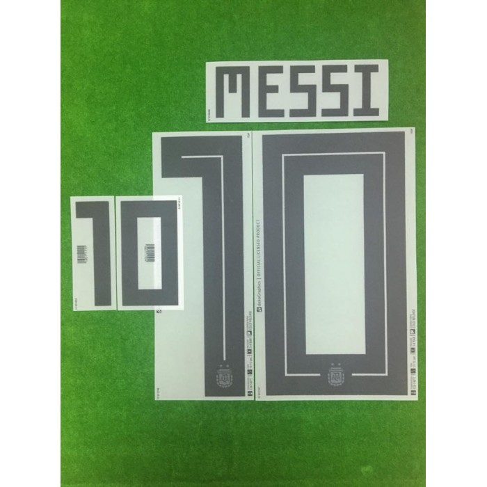 9727921de63 Official MESSI  10 Argentina Home World Cup 2018 PRINT