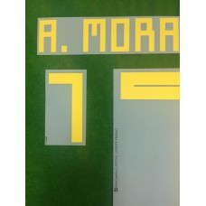 Official A.MORATA #7 Spain Home World Cup 2018 PRINT