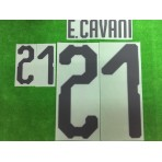 Official E.CAVANI #21 URUGUAY Home World Cup 2018 PRINT