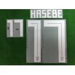 Official HASEBE #17 Japan Home World Cup 2018 PRINT