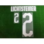 Official LICHTSTEINER #2 SWITZERLAND Home World Cup 2018 PRINT