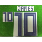 Official JAMES #10 Colombia Home World Cup 2018 PRINT