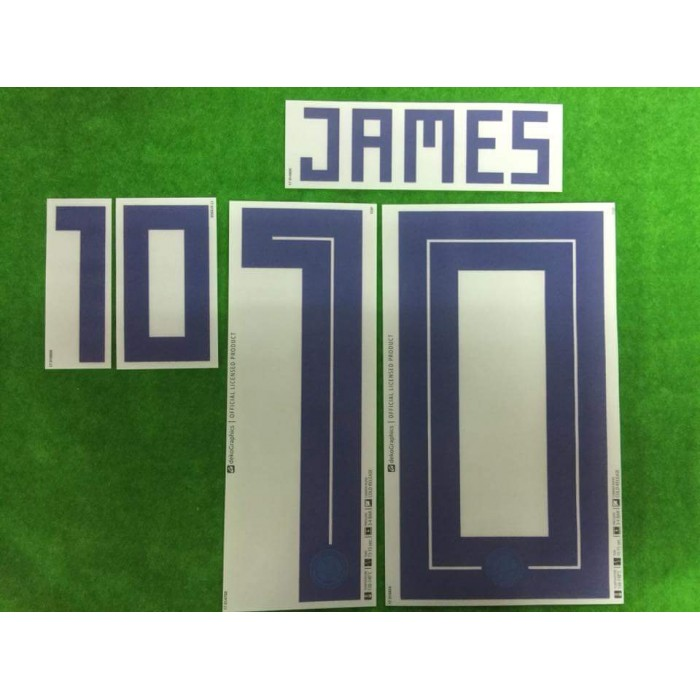 newest collection 32904 82ef6 Official JAMES #10 Colombia Home World Cup 2018 PRINT