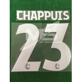 Official CHAPPUIS #23 MUANGTHONG HOME 2018 PRINT