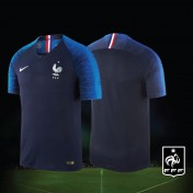 NIKE France Home World Cup 2018 Stadium Jersey