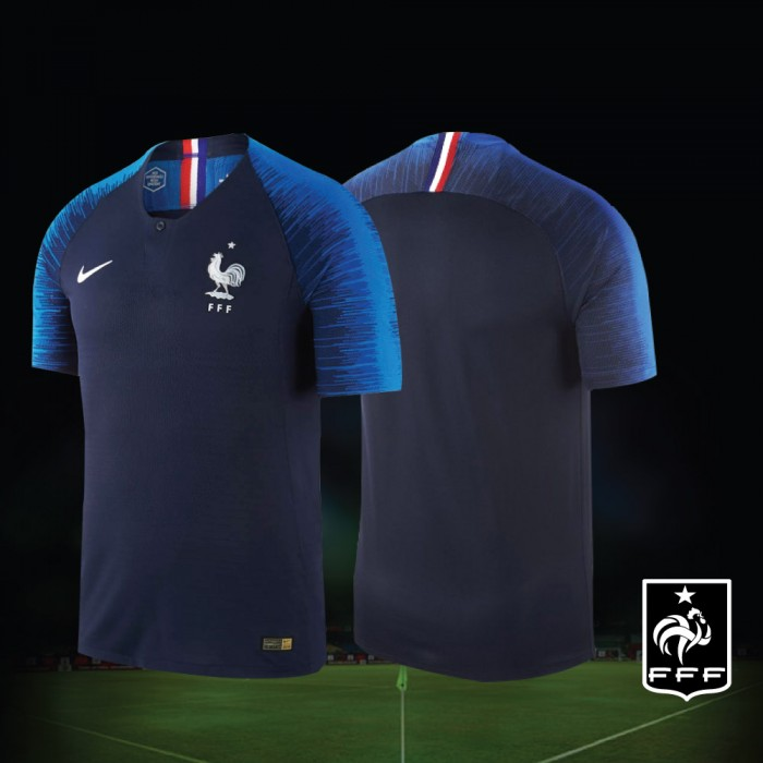 e9fc0be8e NIKE France Home World Cup 2018 Stadium Jersey