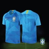 NIKE Brazil Away World Cup 2018 Stadium Jersey
