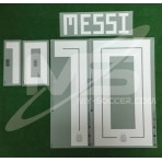 Official MESSI #10 Argentina Away World Cup 2018 PRINT