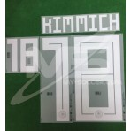 Official KIMMICH #18 Germany Away World Cup 2018 PRINT