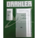 Official DRAXLER #7 Germany Away World Cup 2018 PRINT