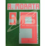 Official MORATA #9 Spain Away World Cup 2018 PRINT