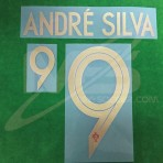 Official ANDRE SILVA #9 Portugal Home WORLD CUP 2018 PRINT