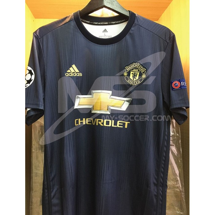 0a059342fdc ADIDAS CLIMALITE Manchester United Football Club 3rd 2018-19 Jersey