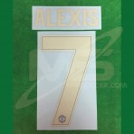Official ALEXIS #7 Manchester United 3rd CUP UCL 2018-19 PRINT