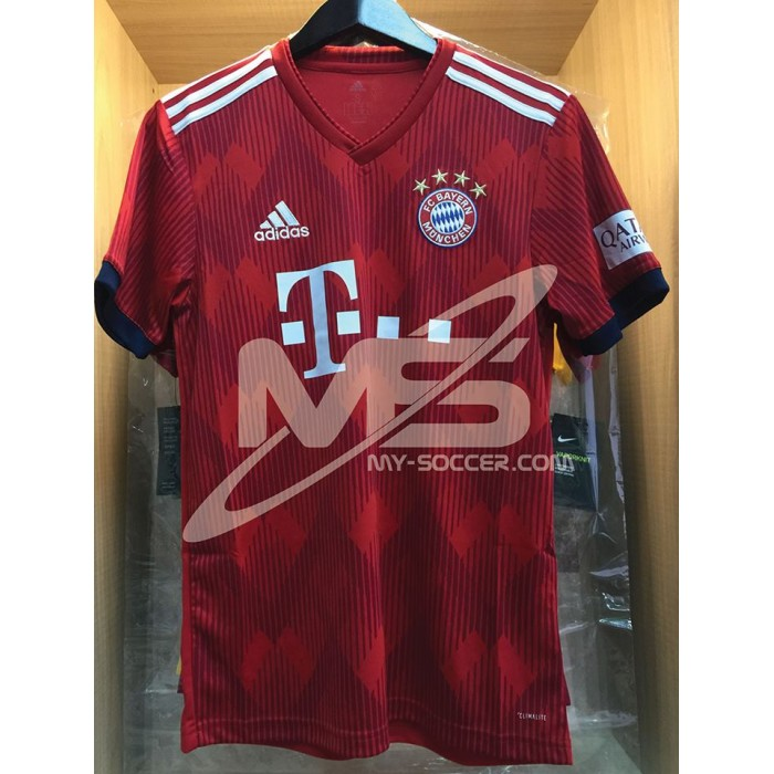 check out 4761e 66bc1 ADIDAS FC Bayern Munchen Home 2018-19 Jersey