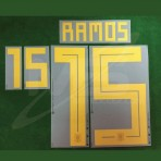 Official RAMOS #15 Spain Home World Cup 2018 PRINT
