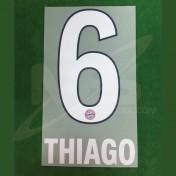 Official THIAGO #6 Bayern Munich Home 2018-19 DEKOGRAPHICS PU PRINT