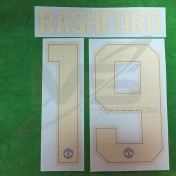 Official RASHFORD #19 Manchester United 3rd CUP UCL 2018-19 PRINT
