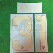 Official MATIC' #31 Manchester United 3rd CUP UCL 2018-19 PRINT