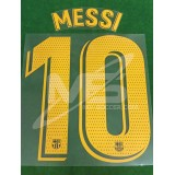 OFFICIAL PLAYER ISSUE MESSI #10 FC Barcelona Home 2018-19 PRINT