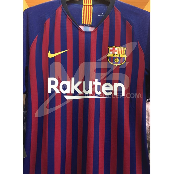 check out 0d886 75b2b VAPORKNIT NIKE FC Barcelona Home 2018-19 AUTHENTIC Match Jersey