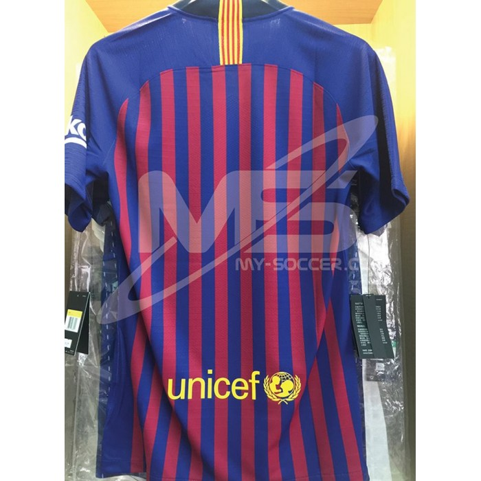 check out 79135 a4016 VAPORKNIT NIKE FC Barcelona Home 2018-19 AUTHENTIC Match Jersey
