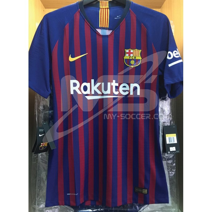 3bcfba935 VAPORKNIT NIKE FC Barcelona Home 2018-19 AUTHENTIC Match Jersey