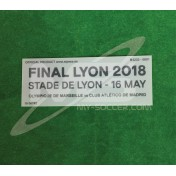 OFFICIAL EUROPA LEAGUE FINAL LYON 2018 MATCH DETAILS