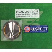 OFFICIAL EUROPA LEAGUE FINAL LYON 2018 MATCH DETAILS + PATCHES